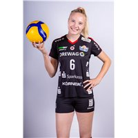 DSC Volleyball Bundesliga Trikot Heim Damen schwarz