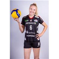 DSC Volleyball Bundesliga Trikot Heim Unisex schwarz