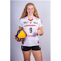 DSC Volleyball Europapokal Trikot Heim Damen weiss/rot