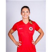 DSC Volleyball Freizeit Shirt Damen rot