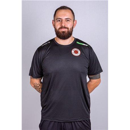 DSC Volleyball Freizeit Shirt Unisex schwarz