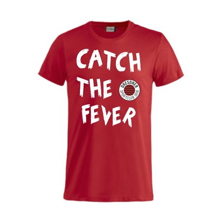 DSC Volleyball Fanshirt CATCH THE FEVER Unisex rot